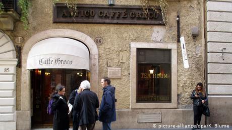 To πανάκριβο ενοίκιο του ιστορικού Caffe Greco