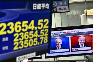 Ασιατικές αγορές: Μικτά πρόσημα- Τα βλέμματα στο αμερικανικό εκλογικό «θρίλερ»