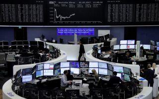 Αρνητικό το κλίμα στα ευρωπαϊκά χρηματιστήρια