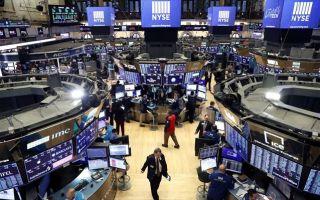 Wall Street: Άνευρο ξεκίνημα στην τελευταία συνεδρίαση του 2020