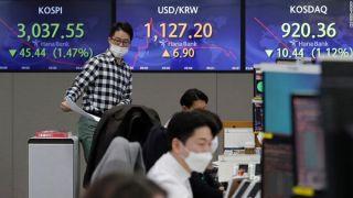 Σε περιδίνηση τα ασιατικά χρηματιστήρια ελέω ομολόγων