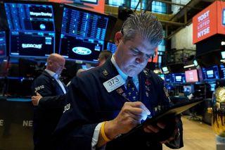 «Φρένο» στο διήμερο ανοδικό σερί της Wall Street